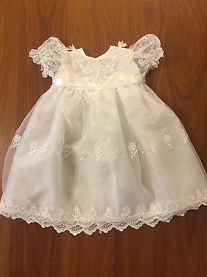 Clothes Baby Girls, Church, Easter, Baptism, Boutique Outfit - 6-9 Mths