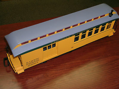 Virginia & Truckee, Large Scale Passenger & Mail Rail Car, Never Used, No Box