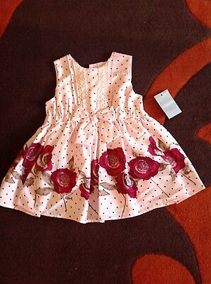 baby girls dress size 3-6 months  pink