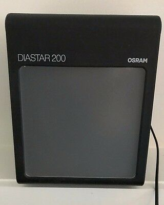 OSRAM DIASTAR 200  35mm SLIDE VIEWER with Bulb TESTED - WORKS