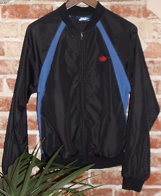 Vintage 80'S Nike Air Jordan 1 Flight Wings Windbreaker Jacket Blue Tag