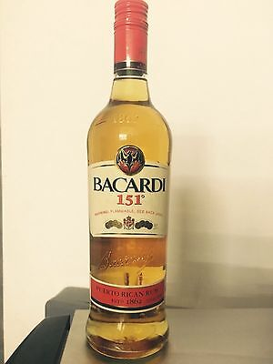 Bacardi 151 - Extremely Rare & Discontinued