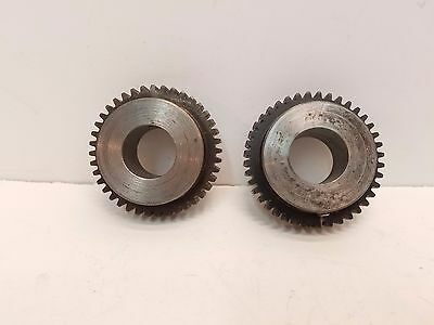 """Lot of 2 Martin S1640 Spur Gear, 1"""" Bore, 40 Teeth Free Shipping"""