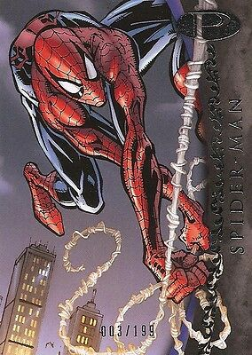 2012 Marvel Premier SPIDER-MAN No. 5 Base Card #003/199