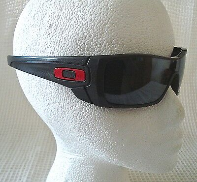 oakley polarized batwolf sunglasses rare granite frame black iridium lens ducati