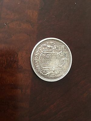 1956 Canada silver 50 Cents QE II very good condition