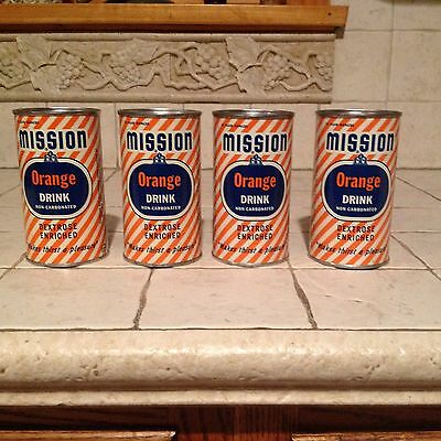 1954 Vintage Mission Orange Soda Drink Can Bank- 4