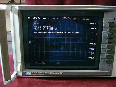 HP Agilent 8757A w/COLOR LCD swept amplitude analyzer, better than new! WARRANTY