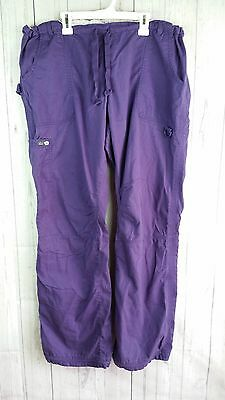 Koi Lindsey women's scrub pants cargo style  Color Purple  style#701T size XL