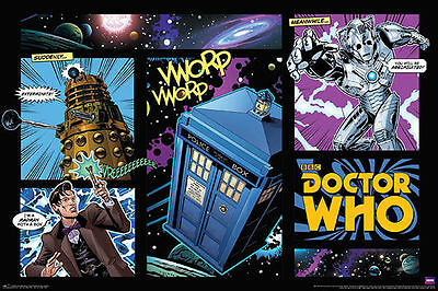 DOCTOR WHO COMIC STRIP New Poster