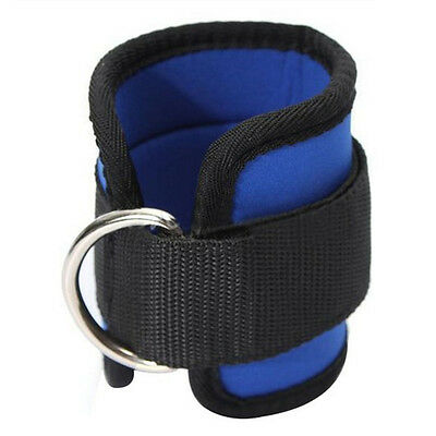 D-ring Ankle Anchor Strap Belt Thigh Leg Pulley Lifting Fitness Training Strap