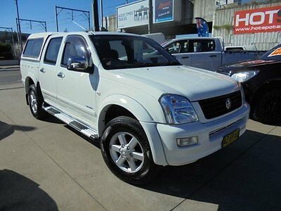 2005 Holden Rodeo RA MY05.5 LT White Automatic 4sp A 4D Utility