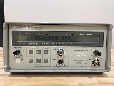 HP/Agilent 5347A 10Hz - 20GHz Frequency Counter and Power Meter
