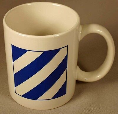 "US Army 3rd Infantry Division ""Marne"" Ceramic Coffee Mug"
