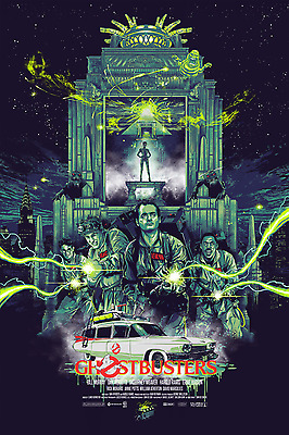 Ghostbusters print by Vance Kelly (limited and numbered)