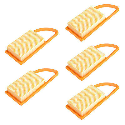 Newest 5 Pcs Air Filter for STIHL BR600 BR550 BR500 Backpack Blower