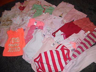 Bulk Baby Girls Size Nb - 000 Clothing - 27 Items Next/pumpkin Patch/cotton On