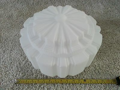 Hand Blow Stepped Glass Shade - Light Deco -  Art Fitting