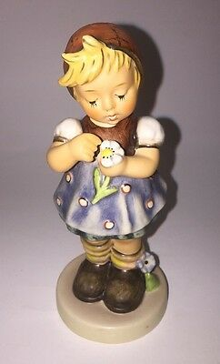 "Vtg Goebel Hummel #380 ""Daisies Don't Tell"" Girl Figure Special Edition No.5"