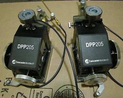 Cascade Microtech DPP205 positioners with needles