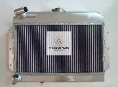 56mm Aluminum Alloy Radiator For MGB GT/ROADSTER TOP-FILL 1968-1975 69 70 71 72