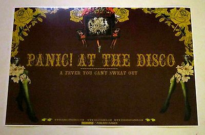 Panic At The Disco *A Fever You Can't Sweat Out* Promo Poster RARE Pretty Odd