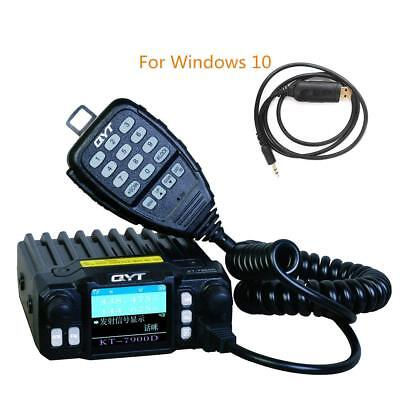QYT KT-7900D Quad Band 144/220/350/440MHZ Car Mobile Radio, two way radio