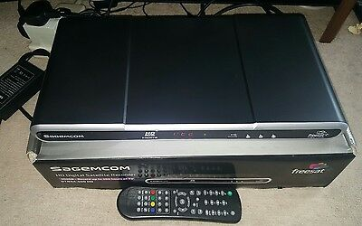 SAGEMCOM DTR94-500 HD DIGITAL SATELLITE RECORDER 500GB  HD Freesat+ (BOXED)