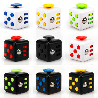 1Pcs Magic Fidget Cube Anxiety Stress Relief Focus 6-side Gift For Adults&Child