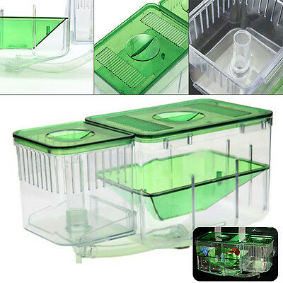 1*Aquarium Nursery Automatic Circulating Hatchery Baby Fish Breeding Incubator