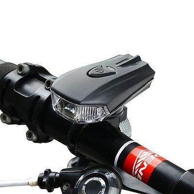 Bike Bicycle Smart Sensor LED Light Front Lamp USB Rechargeable Headlamp Cycling