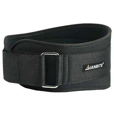 Gym Belt Weight Lifting Waist Back Support Strap Power Dip Training Fitness AU