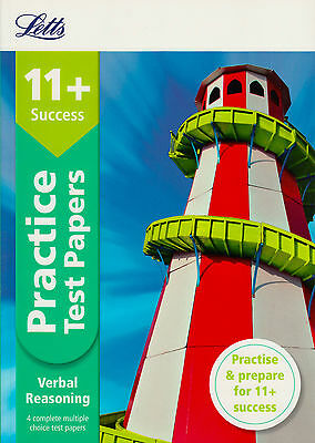 Letts 11+ Verbal Reasoning Practice Test Papers BRAND NEW BOOK (Paperback 2015)