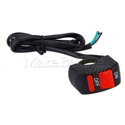 "1x Universal Motorcycle Scooter Dirt Bike Kill ON-OFF Switch 7/8"" Handlebar"