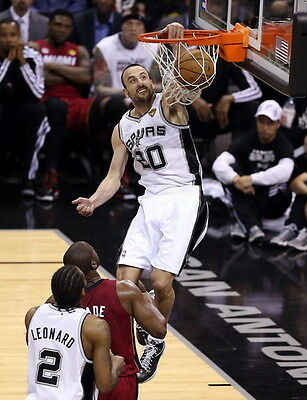 "013 Manu Ginobili - San Antonio Spurs GDP Super Star NBA 14""x18"" Poster"