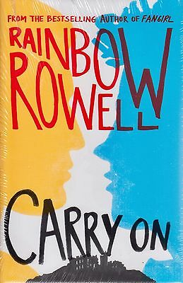 Carry on by Rainbow Rowell BRAND NEW BOOK Hardback, 2015)