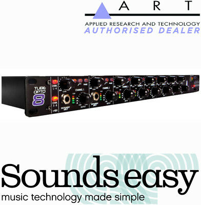 ART TubeOpto 8 Mic Preamp with ADAT