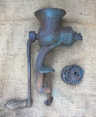 Vintage Pope Senior Cast Iron Meat Mincer - Country Farmhouse Kitchen Grinder