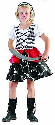 Child Captain J Costume Girls Fancy Dress World Book Day Theme Party Outfit