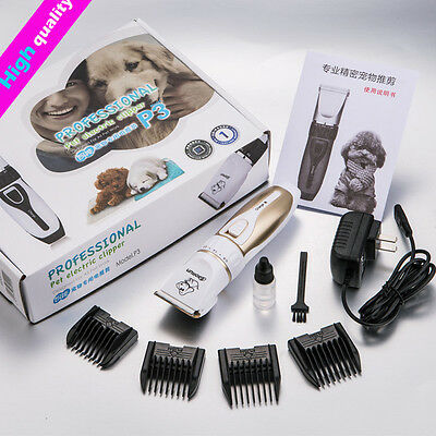 Profesional Pet Dog Hair Trimmer Grooming Clippers Animal Gato Cortadores Máqui