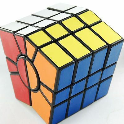 Hot QJ Super Square One Speed Puzzle Magic Cube 4x4 Black Toy  Fast Ship A1 New