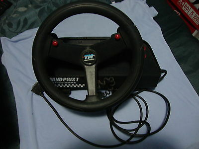 Thrustmaster Grand Prix 1 Racing Wheel  Rare