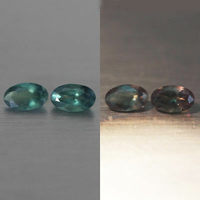 0.51Cts A  Graceful 100% Natural Color Change Alexandrite-Loose Gemstone-Ceylon