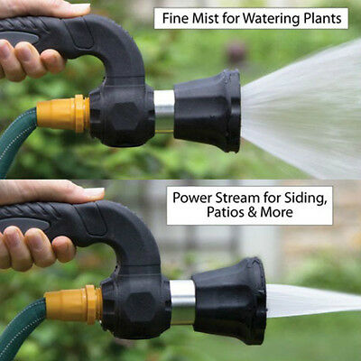 Mighty Sprayer Hose Nozzle Garden Sprayer Power Wash and Water Your Lawn As Pro