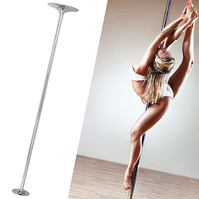 Pro Dance Pole 45mm Dancing Fitness Portable Static Stripper Spinning Exercise