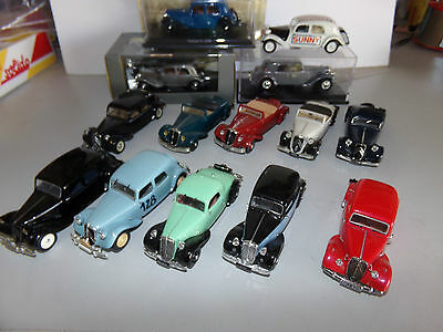 voiture miniature 1/43  UH NOREV SOLIDO    LOTS CITROEN TRACTION