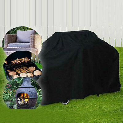 BBQ Gas Grill Cover Outdoor Patio Furniture Cover Waterproof All Weather Shelter