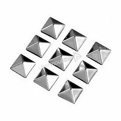 Demon Small Cleat Pyramid Snowboard Stomp Pad Board Traction Mat - Silver