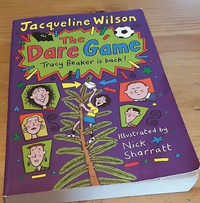 The Dare Game by Jacqueline Wilson, Children's Fiction Books, Paperback, 2001
