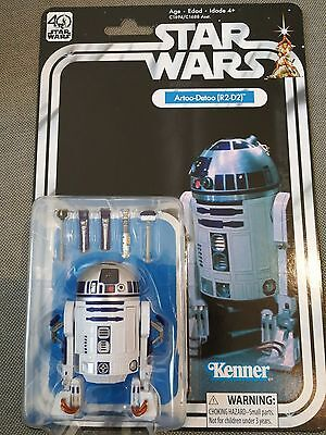 Star Wars 40th Anniversary Kenner R2-D2 Artoo-Detoo for 6 Inch Figure Collection